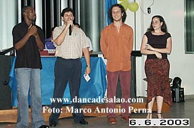Encontro das Melhores Acads.de Dança de Niterói. Baile dia 6.6.2003, 20h, no salão de festas do Colégio Salesiano. Tel 21 2610-1515. R.Santa Rosa, 207 – Santa Rosa.