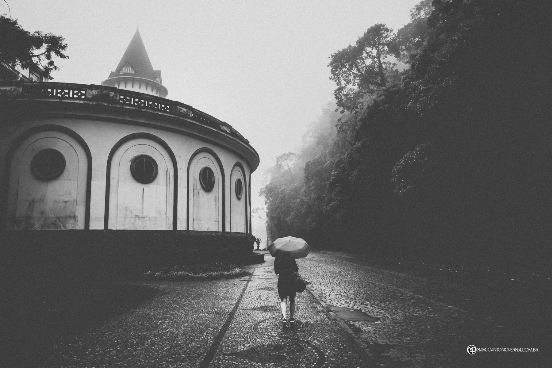 Rainy day in Petrópolis