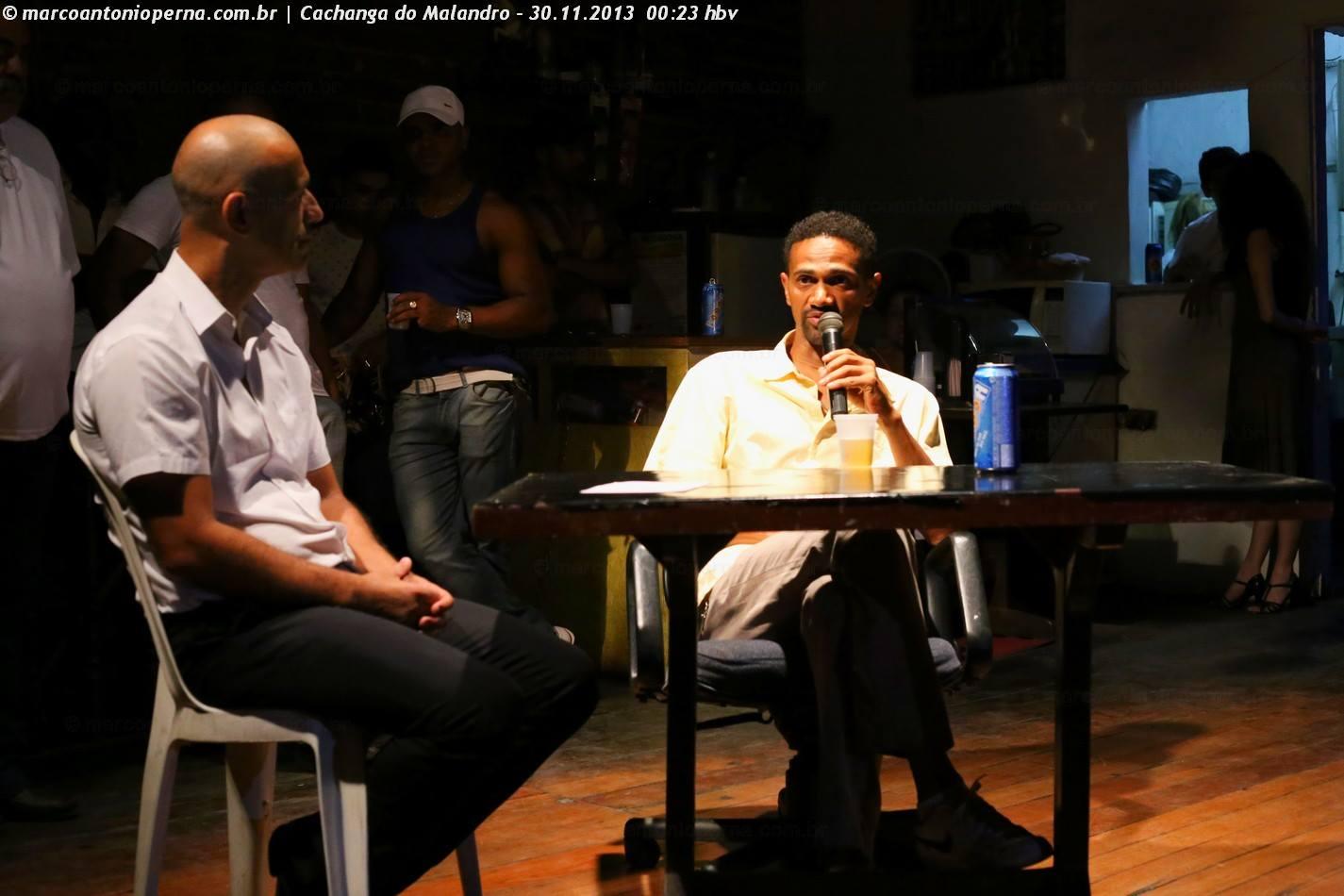 Cachanga do Malandro - 30.11.2013 - Entrevista com João Carlos Ramos e baile.
