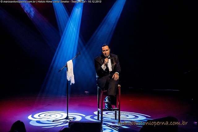 Helcio Hime canta Frank Sinatra - Teatro Rival - Cinelândia - Rio de Janeiro - RJ - 16.12.2013.