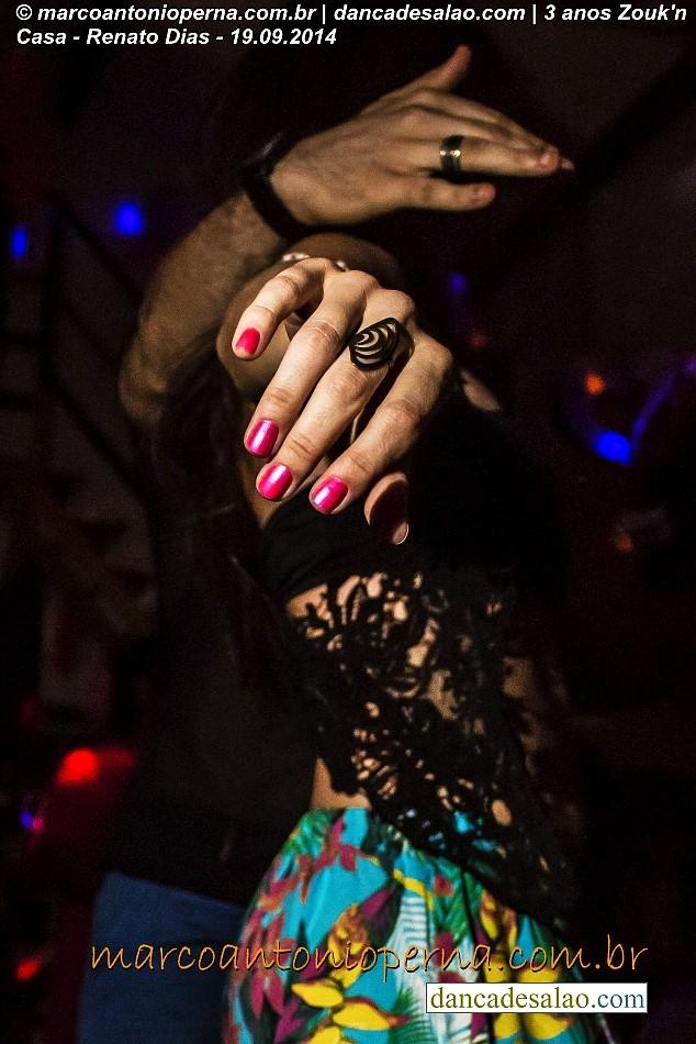 Baile de lambada zouk de Renato Dias Abugeber