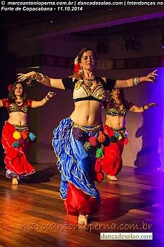 Danças Cigana, Árabe, Ventre, Said, Tribal, Flamenco etc. Profissionais: Liane De Luna, Lucielle le Fay, Mayara Rajal, Nair Ramos, Elizabeth Turetta de Azevedo, Regina Nunes e alunas.