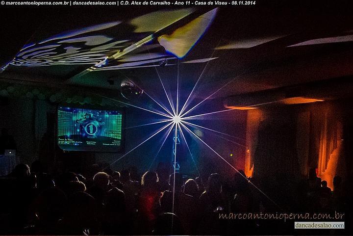 A comemoração dos 11 anos do Centro de Dança Alex de Carvalho (CDAC) foi realizado na Casa de Viseu, na Vila da Penha - Rio de Janeiro - RJ, em 8 de novembro de 2014 e contou com link internacional, via internet, com Alex de Carvalho que está residindo em Paris ampliando as fronteiras de nossas danças. Alex pode ver a festa realizada por seu sobrinho e parceiro Rafael Oliveira e ouvir o som do DJ Rafa Zoukman. Foram realizadas diversas apresentações de profissionais, bolsistas e alunos do CDAC.