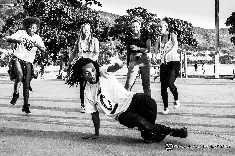 Ensaio fotogr�fico na pista de skate de S�o Francisco - Niter�i